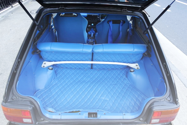 REAR INTERIOR BLUE CUSTOM