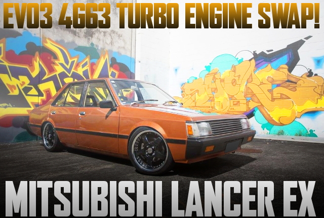4G63 TURBO ENGINE LANCER EX