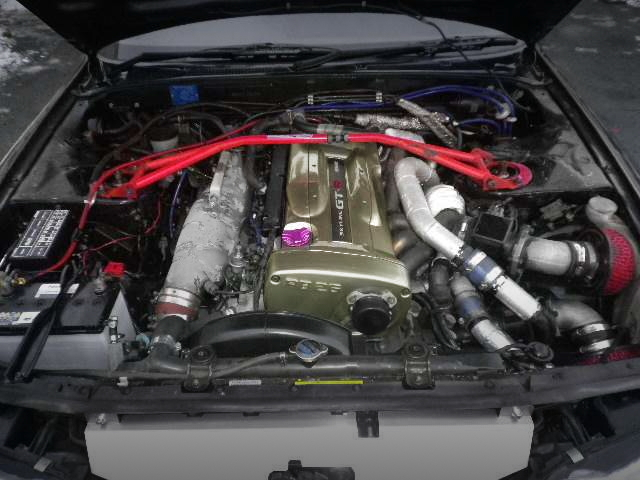 NUR RB26 TWIN TURBO ENGINE