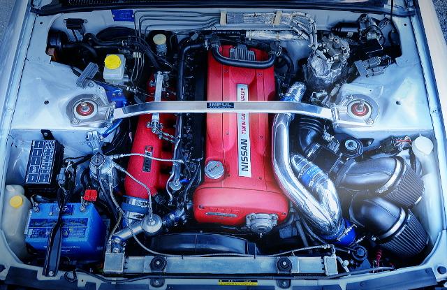 NISMO OMORI FACTORY RB26 R1 ENGINE