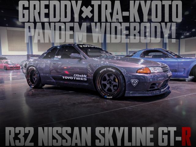 R32 GTR GREDDY PANDEM WIDEBODY