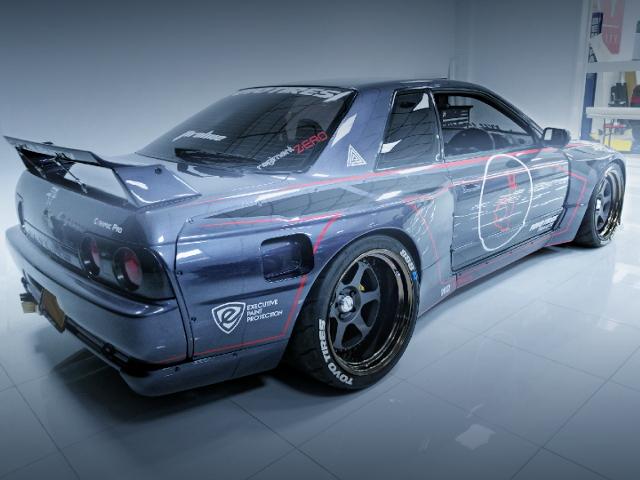 REAR EXTERIOR R32 GT-R PANDEM BODY