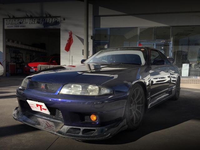 FRONT EXTERIOR R33 SKYLINE GT-R V-SPEC