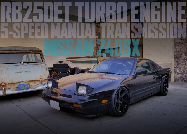 RB25DET TURBO ENGINE S13 240SX