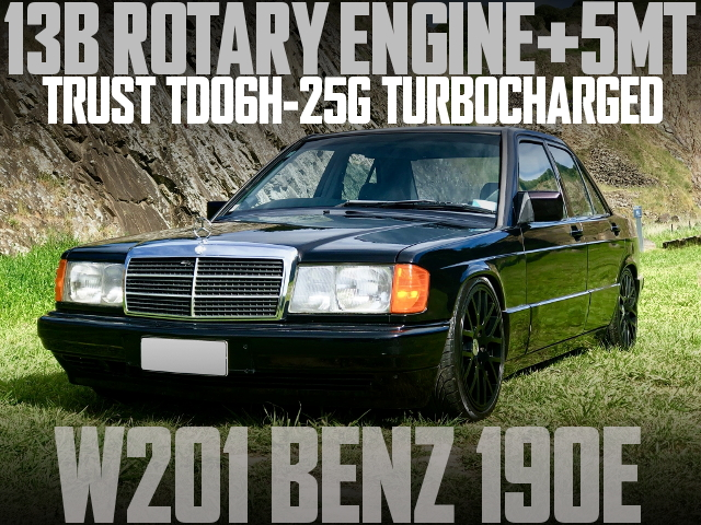 13B ROTARY TURBO ENGINE W201 BENZ 190E