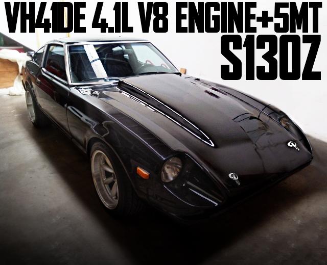 VH41DE V8 ENGINE S130 DATSUN 280Z