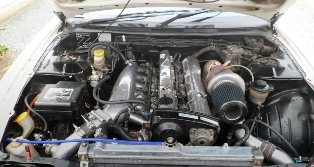 RB25 Gt3540 TURBO ENGINE