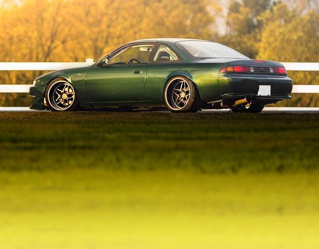 REAR EXTERIOR S14 NISSAN 240SX WIDEBODY