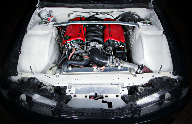 LS1 V8 ENGINE WITH LS6 AIR INTAKE