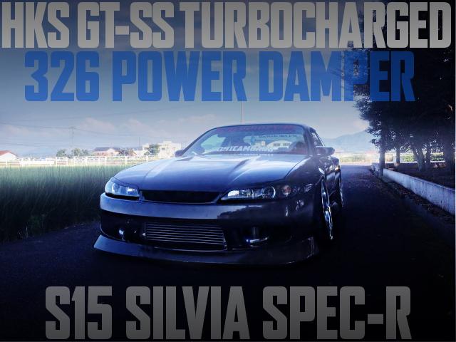GT-SS TURBINE 326 DAMPER S15 SILVIA SPEC-R