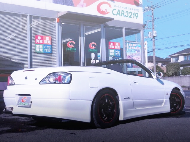 REAR EXTERIOR S15 SILVIA VALLETTA