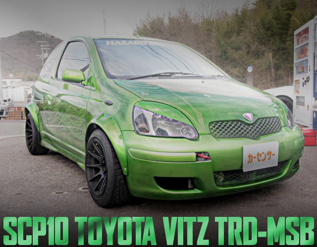 SCP10 VITZ TRD MSB WIDEBODY
