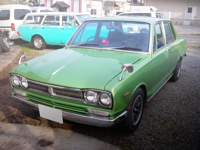 FRONT EXTERIOR SHORT BODY C10 HAKOSUKA 4-DOOR