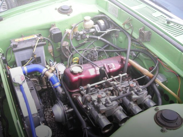 A12 1200cc ENGINE SOLEX