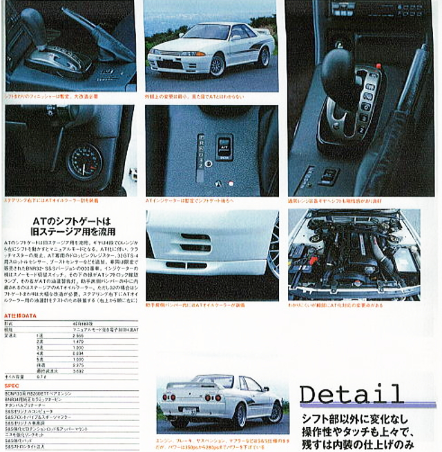 S-AND-S R32GTR GT-R MAGAZINE 2-PAGE