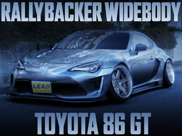 RALLYBACKER TOYOTA 86 GT