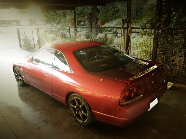 REAR EXTERIOR R33 SKYLINE 2-DOOR ZENKI