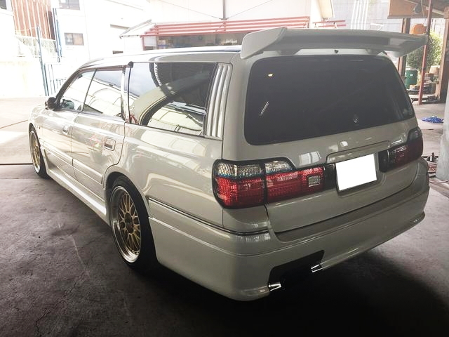 REAR EXTERIOR WC34 STAGEA 260RS