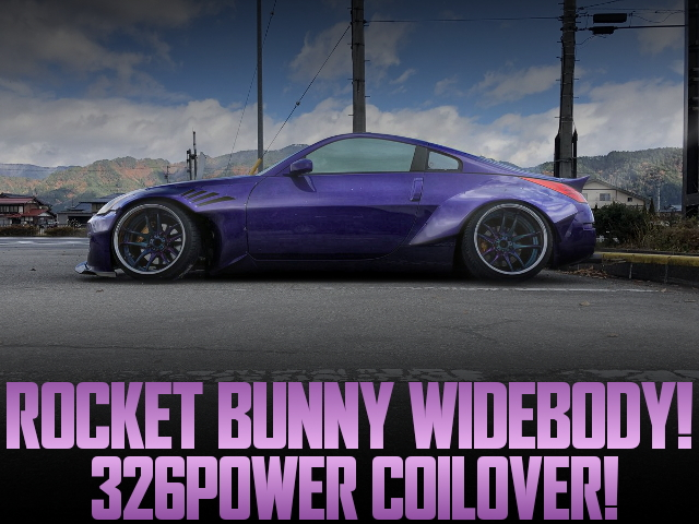 326POWER COILOVERS ROCKET BUNNY WIDEBODY Z33