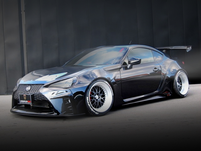 FRONT EXTERIOR TOYOTA 86 GT AIMGAIN