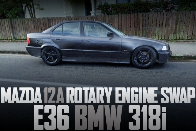 12A ROTARY ENGINE E36 BMW 318i