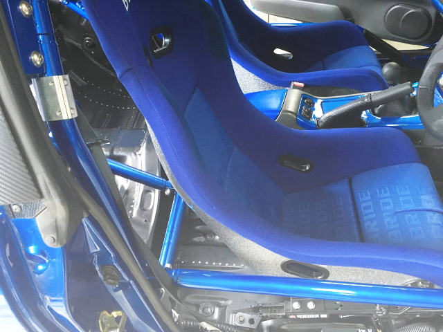 FULL-BUCKET SEAT BLUE