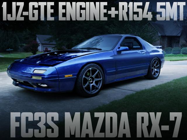 1JZ-GTE SWAP FC3S RX-7