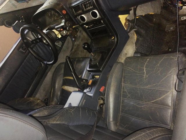 LEFT HAND DRIVE FC3S RX-7 INTERIOR