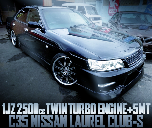 1JZ TWIN TURBO C35 LAUREL