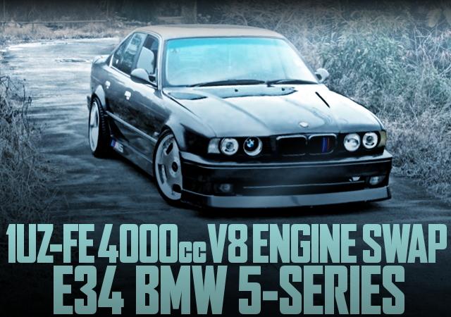 1UZ V8 SWAP E34 BMW 5-SERIES