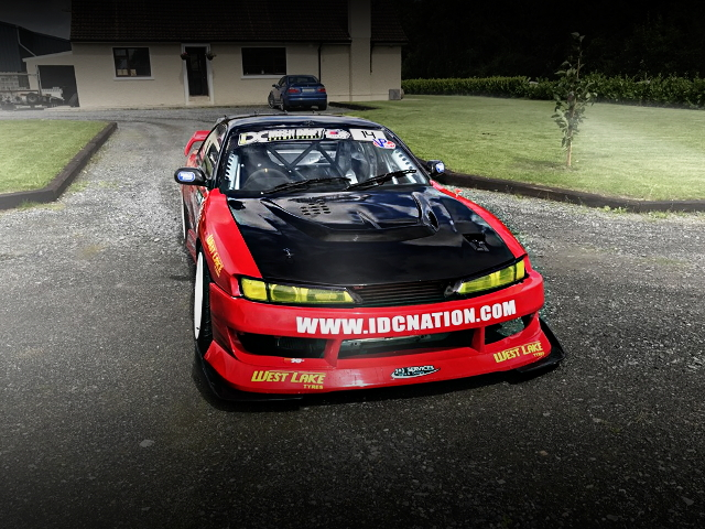 FRONT FACE S14 NISSAN 200SX