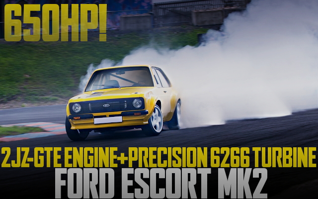 2JZ SWAP FORD ESCORT MK2 DRIFT SPEC