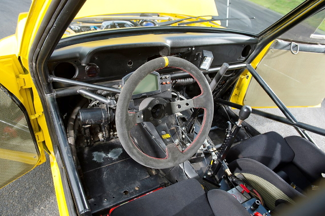 INTERIOR DRIFT CAR FORD ESCORT MK2