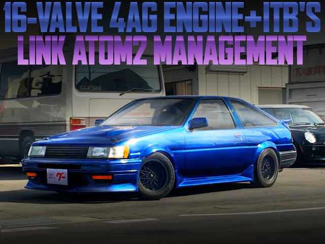 4AG ITBS LINK-ATOM-2 AE86 LEVIN