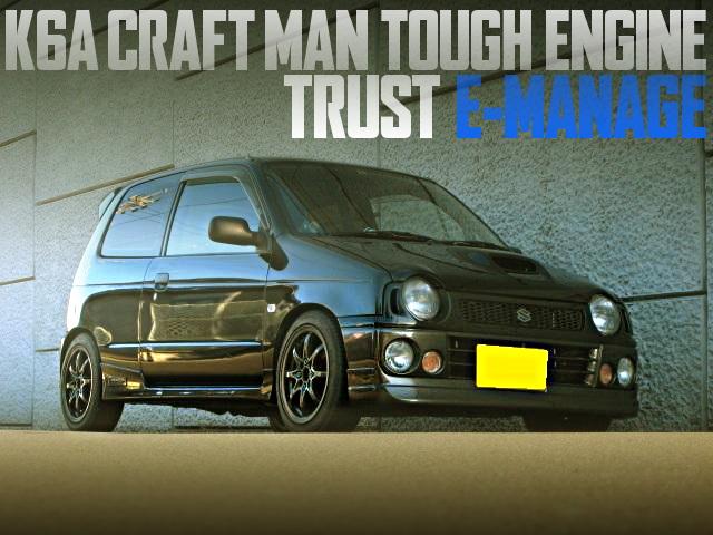 CRAFT MAN TOUGH ENGINE HA21S ALTO WORKS RS/Z