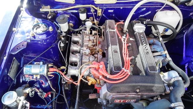 2TG ENGINE CARBURETOR