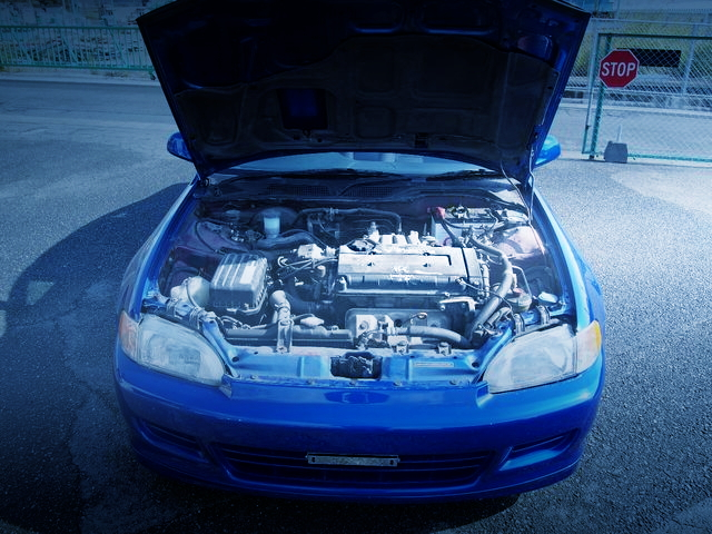 B18C VTEC ENGINE SWAP FROM EJ1 CIVIC COUPE