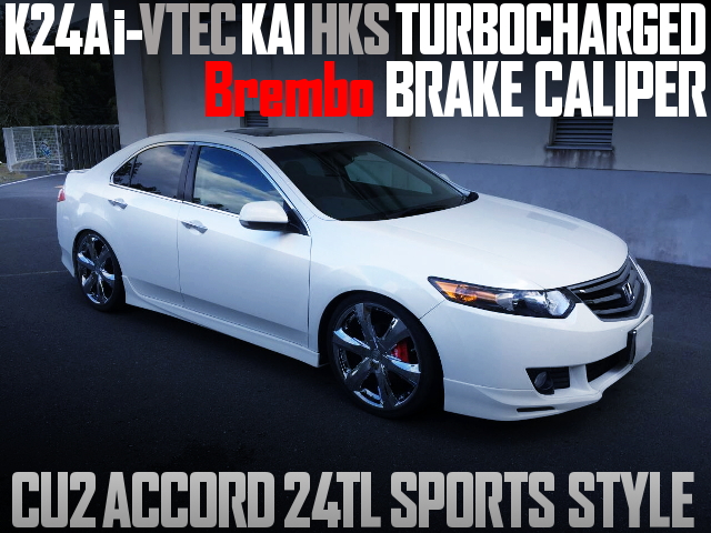 K24A HKS TURBOCHARGED CU2 ACCORD