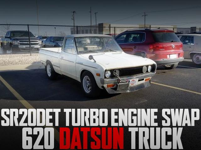 SR20DET SWAP 620 DATSUN TRUCK