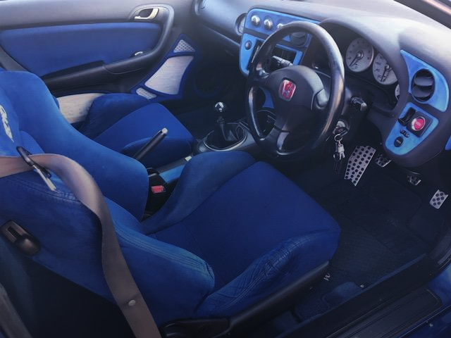 INTERIOR DC5R BLUE