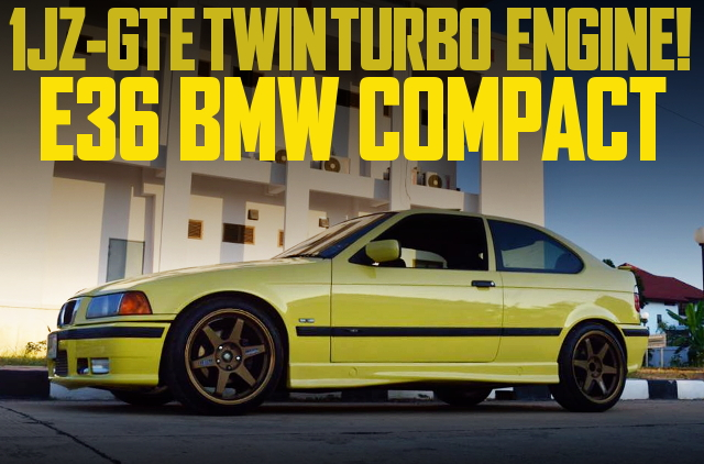 1JZ TWIN TURBO AT E36 BMW COMPACT