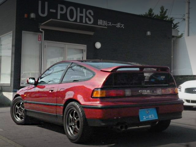 REAR EXTERIOR EF CR-X SiR RED