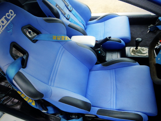 BUCKET SEATS BLUE