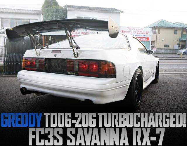 TD06-20G TURBO FC3S RX-7
