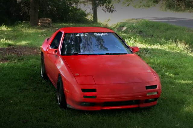 FRONT EXTERIOR FC3S RX-7 RED