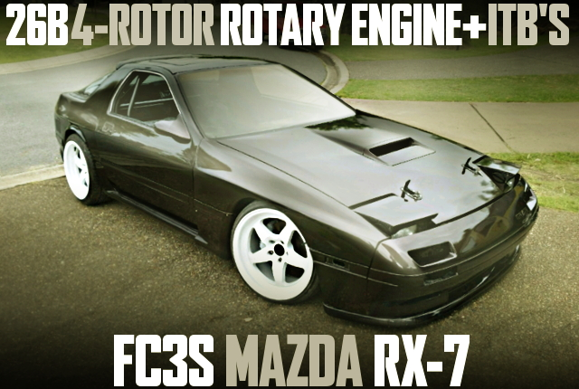 26B 4-ROTOR ROTARY ENGINE FC3S RX-7