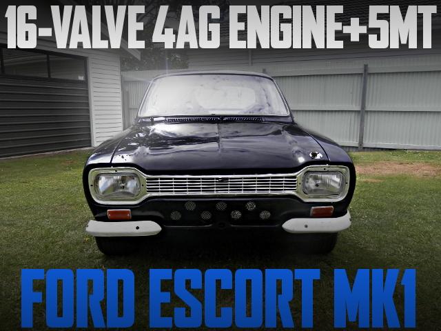 16-VALVE 4AG FORD ESCORT MK1