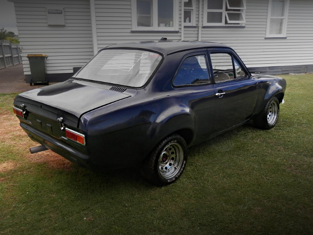 REAR EXTERIOR FORD ESCORT MK1
