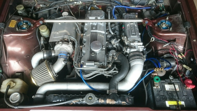 G54BT 2600cc TURBO ENGINE
