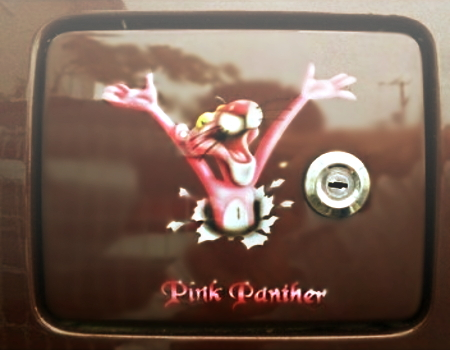 PINK PANTHER AIR BRUSH